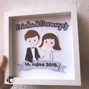pokloni za vjenčanje - personalizirani i unikatni