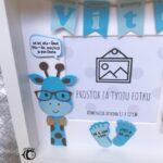 personalizirani poklon za bebe - fotookvir