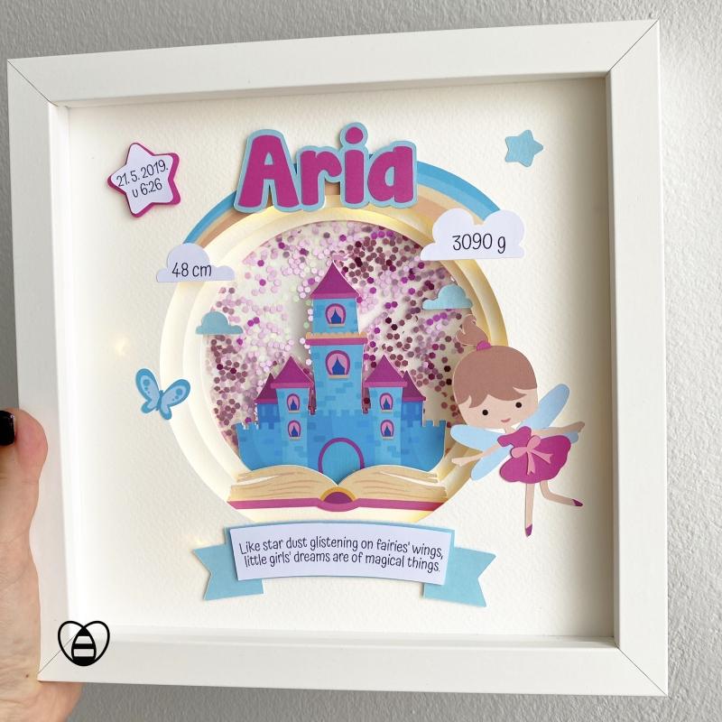 princeza i dvorac poklon za curice