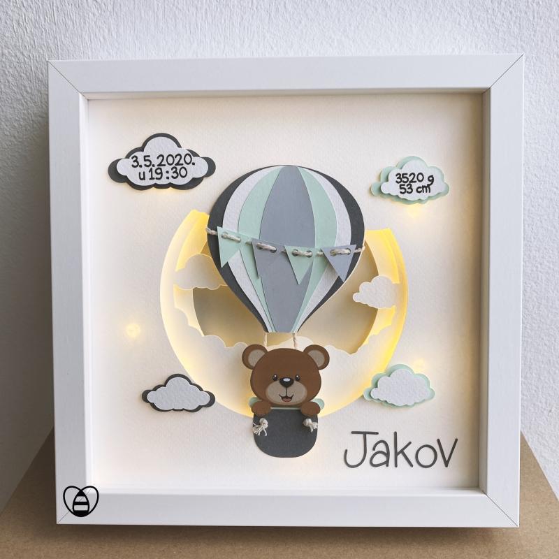 unikatni rucni rad poklon za bebu