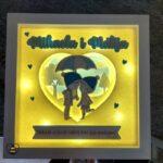 personalizirani okvir poklon za vjencanje