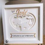 okvir s lampicama - personalizirani poklon za vjenčanje